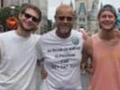 Dad Wore T-Shirt At Disney World That Said 'In Need Of Kidney.' It Worked
