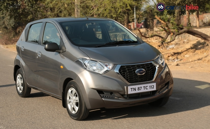 Datsun redi-GO AMT Launched In India; Priced At ₹ 3.80 Lakh