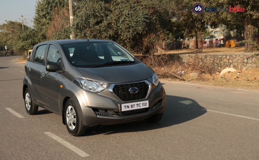 The new safety features on the Datsun redi-Go are standard on all variants