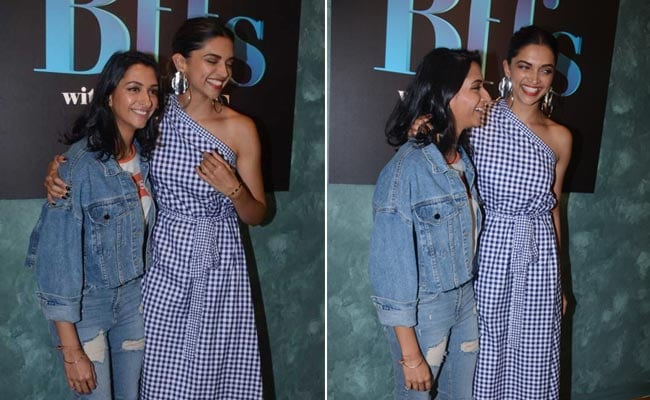 With Padmavati releasing, Deepika is smiling again and has sis for company