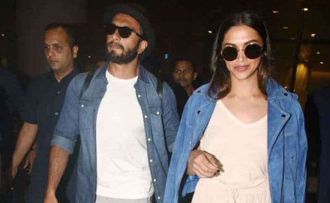 Vacation Done. Welcome Back, Deepika Padukone And Ranveer Singh