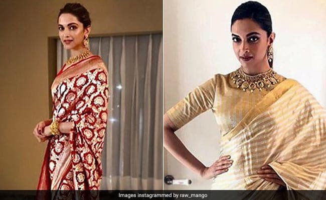 Deepika Padukone's Silk Sarees Are Giving Us So Much ...
