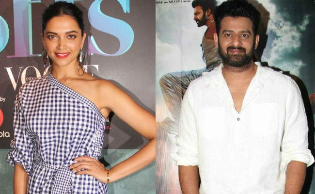 Deepika Padukone And Prabhas In A Bollywood Film - How Cool Would That Be?