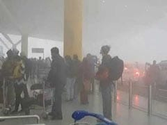 Dense Fog Stalls Flights At Delhi Airport For Two Hours