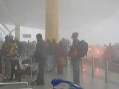 Delhi Fog Highlights: Trains, Flights Delayed; Airport Operations Resume