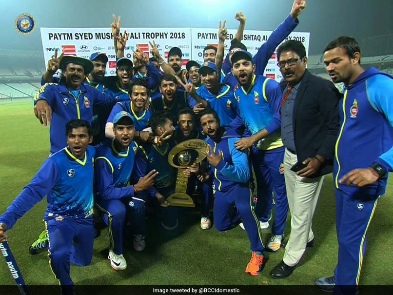 Syed Mushtaq Ali T20 Tournament: Unmukt Chand Hits Fifty As Delhi Win Maiden Title