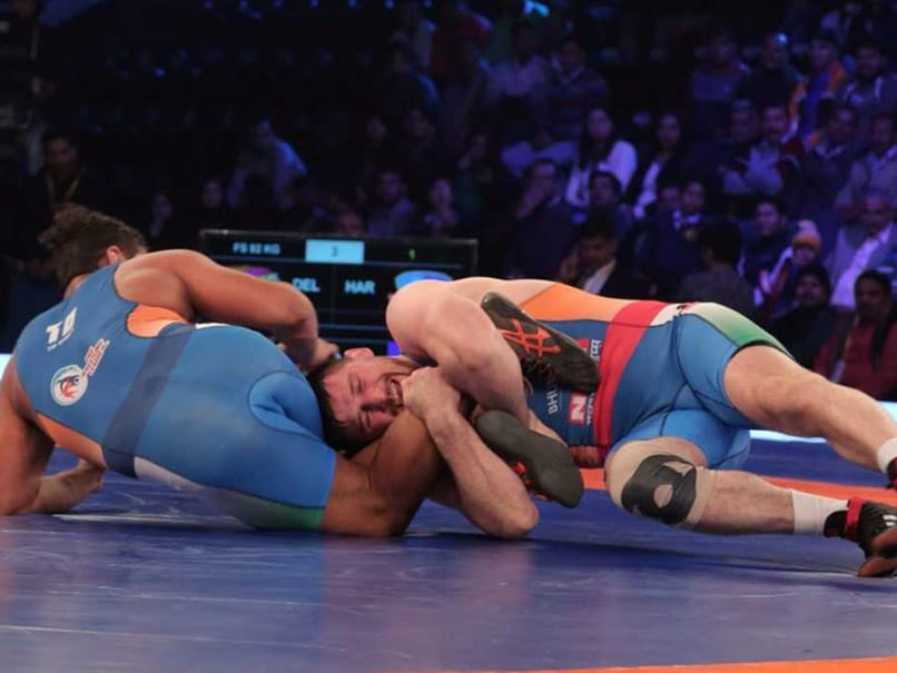 Pro Wrestling League: Haryana Hammers Beat Delhi Sultans For Second Consecutive Win