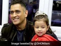 Mahendra Singh Dhoni, On A Cricket Break, Attends Ziva's First Annual Day