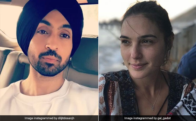 Diljit Dosanjh's Comment On Gal Gadot's Pic Is Winning The Internet