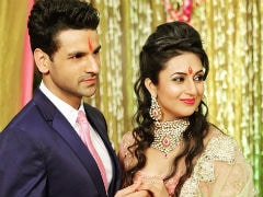 Divyanka Tripathi And Vivek Dahiya In A Throwback Pic From Their Engagement