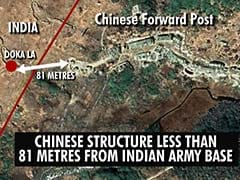 Full-Fledged Chinese Military Complex In Doklam, Show Satellite Pics
