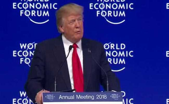 Donald Trump's Speech At World Economic Forum In Davos: Highlights