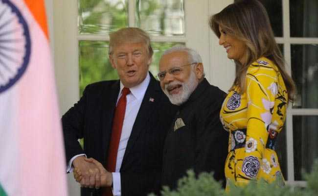 अमेरिकी राष्ट्रपति डोनाल्ड ट्रंप और पीएम नरेंद्र मोदी ने की मालदीव के हालात पर बातचीत