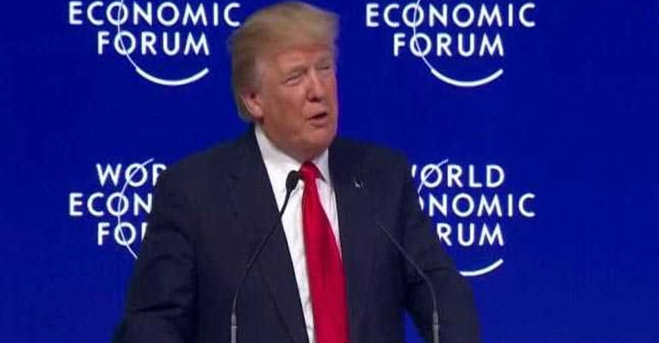 America First Does Not Mean America Alone: President Donald Trump In Davos