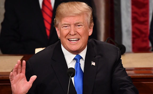 Trump Urges US Parties Set Aside Differences In State Of The Union Address