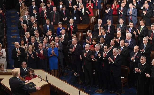 Trump's State of the Union ratings are not the highest in history