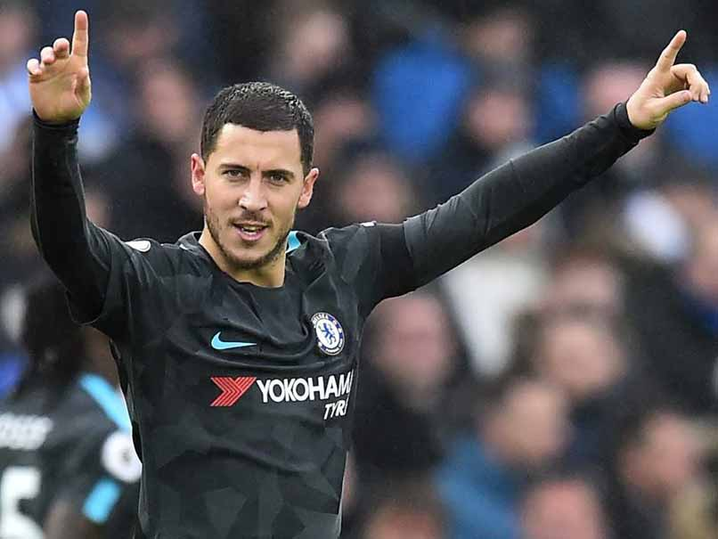 Premier League: Eden Hazard Hits Brace As Chelsea Thrash Brighton