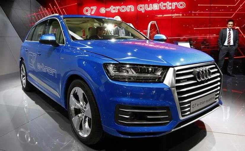 Electric Vehicles Are Ready For India, But Need Proper Infrastructure First, Says Audi India