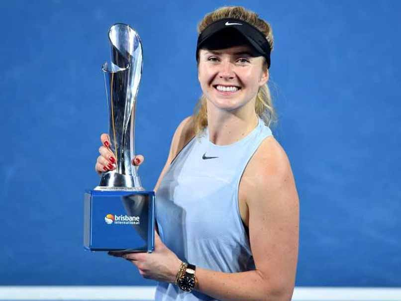 Elina Svitolina Crushes Aliaksandra Sasnovich In Brisbane International Final
