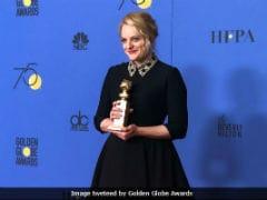 Golden Globes 2018: Elisabeth Moss Invokes Weinsteingate, 'Rewrites' Margaret Atwood