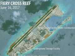 Philippines To Protest To China Over Apparent Airbase On Manmade Island