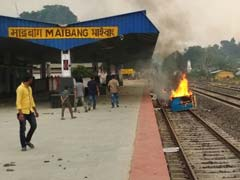Trains Blocked For 2 Days, Curfew In Assam Town As Police Firing Kills Two