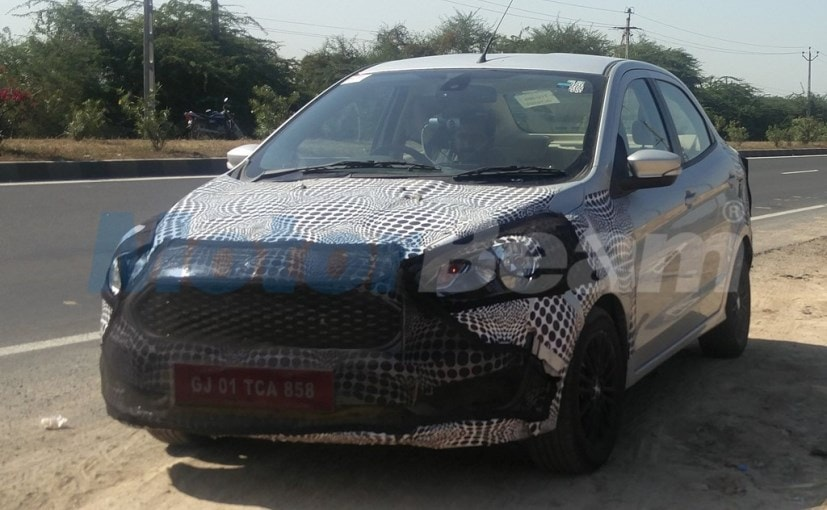ford apire facelift spied face