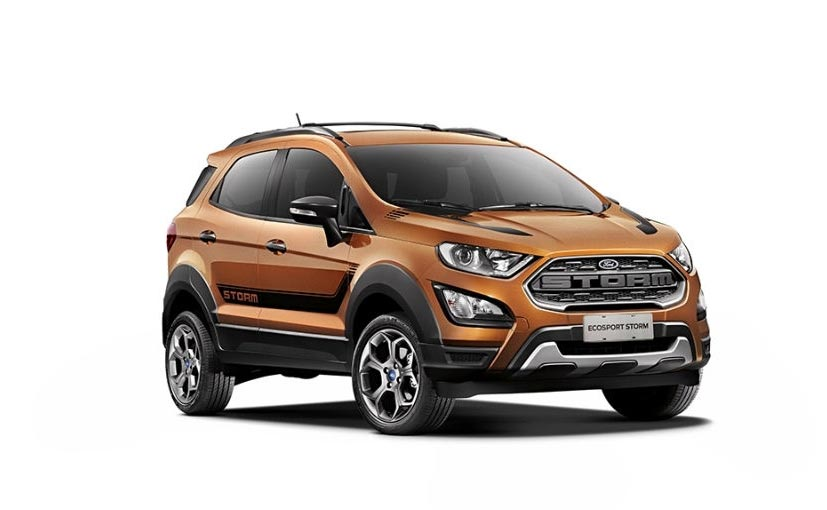 Ford EcoSport Storm Unveiled In Brazil