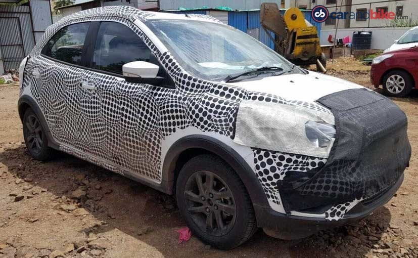 Ford's new compact utility vehicle could be the Figo Cross