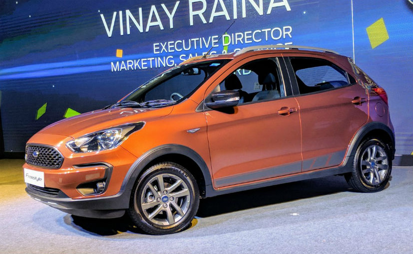 The Freestyle is expected to be launched in India later this month