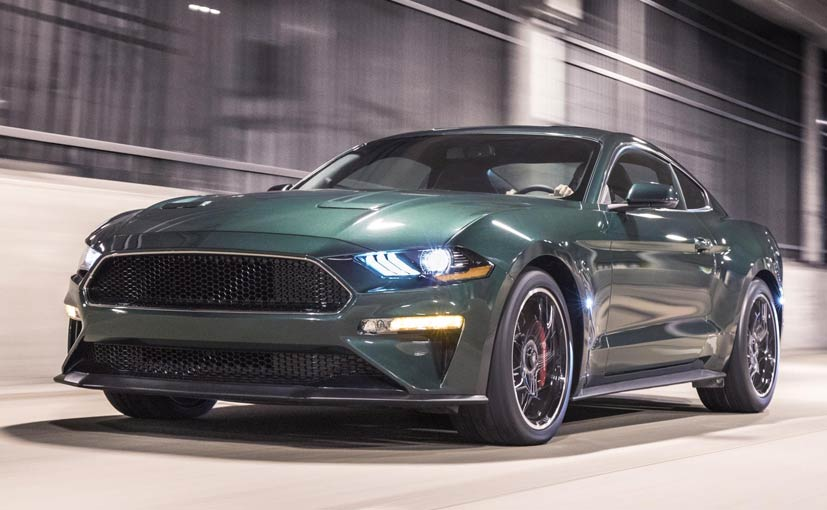 2018 Detroit Motor Show: Ford Unveils Limited Edition Mustang Bullitt