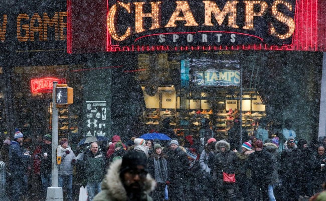 As Cold Snap Stuns US East Coast, Warnings Of Frostbite Within Minutes