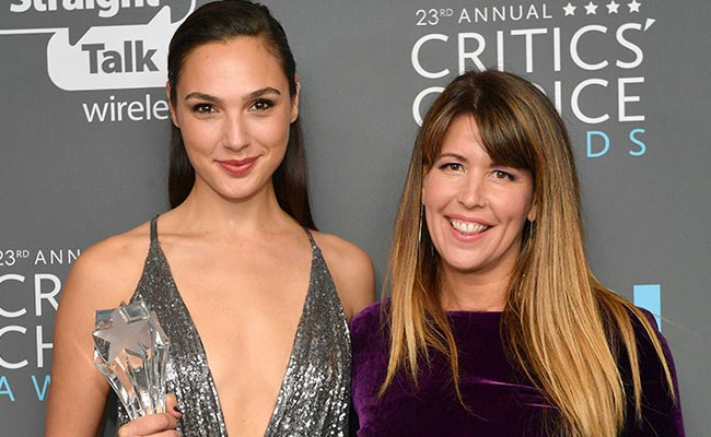 Director Patty Jenkins presented the award to Gal Gadot