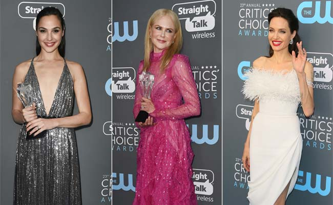 Critics' Choice Awards: Angelina Jolie To Nicole Kidman, They Looked Stunning. But Where Did The Black Go?