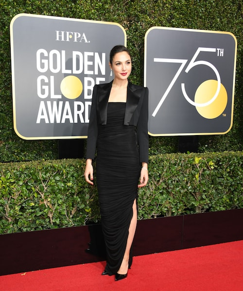 Why Stars Wore Black to the 2018 Golden Globes