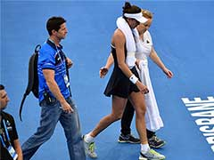 Fitness Scare For Garbine Muguruza As Brisbane Proves Too Hot