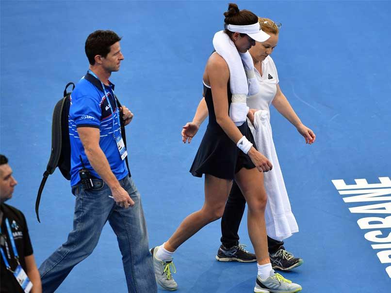 Fitness Scare For Garbine Muguruza As Brisbane Proves Too Hot