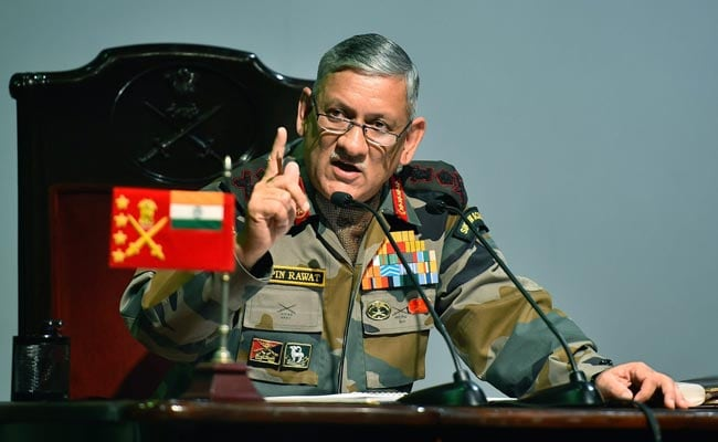 Education cap issue: Army evolving better system, says Rawat