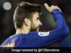 Gerard Pique Signs Contract Extension With Barcelona Until 2022