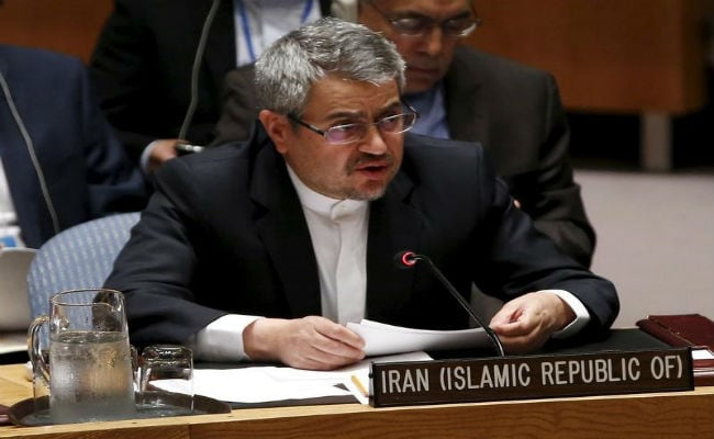Iran's UN Ambassador Says Government Has Evidence Violence 'Directed From Abroad'