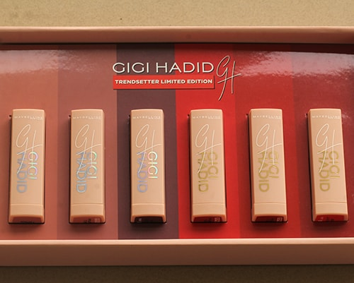 gigi hadid makeup launch