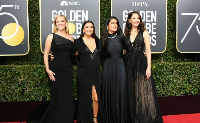 Golden Globes 2018: Stars take activists as dates on red carpet