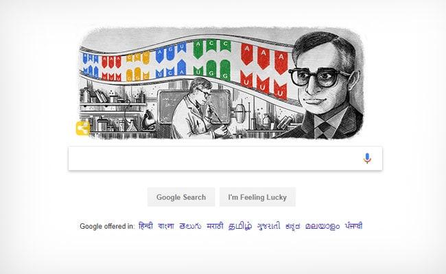 Google Doodle Honours Har Gobind Khorana On His 96th Birth Anniversary