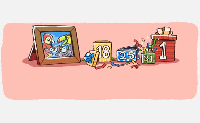 google doodle new years day 2018
