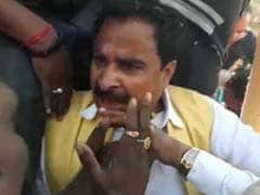 Amid BJP Footmarch In Madhya Pradesh, 2 Lawmakers Scuffle, Get Filmed