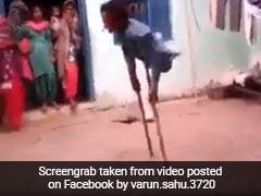 इस दिव्यांग का डांस देख हर कोई रह गया हैरान, सोशल मीडिया पर वायरल हुआ वीडियो