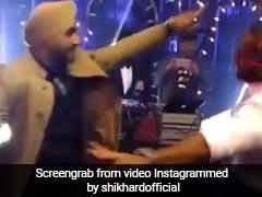Missing Virat-Anushka Wedding? See Shikhar Dhawan, Harbhajan Singh's New Bhangra Video