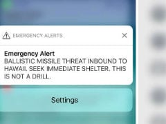 False Missile Alert Caused Heart Attack, Says Man In Case Against Hawaii