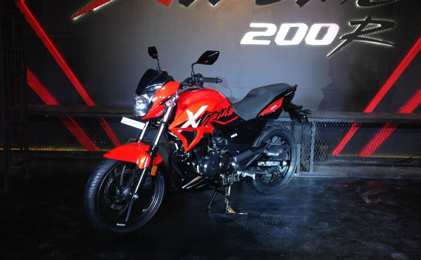 Hero MotoCorp has updated the official website with prices for the Xtreme 200R in NE states