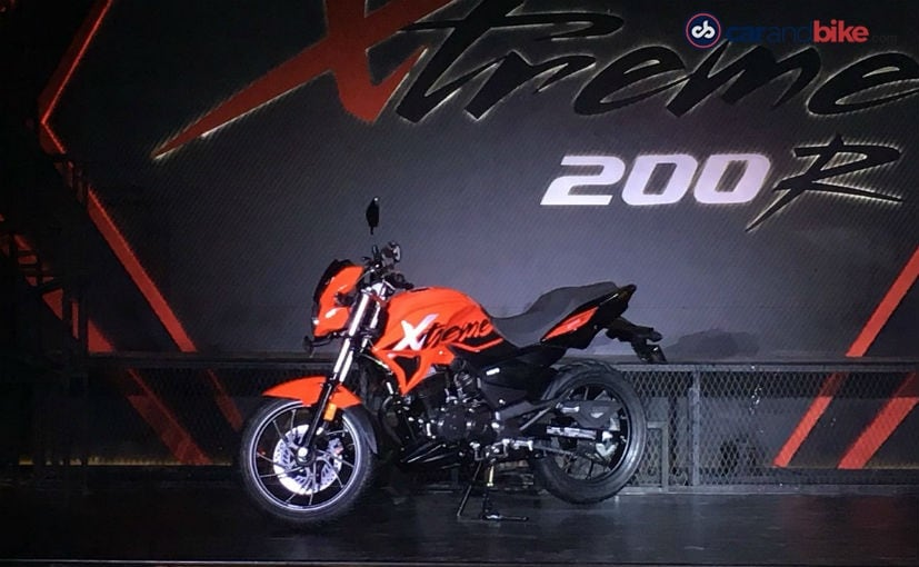 Hero unveils 2018 Xtreme 200R in India